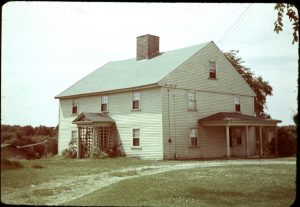 The house in 1940, when it was owned by the Munsons.